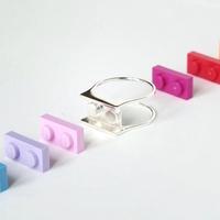 Játékos, mégis elegáns Lego-gyűrűk