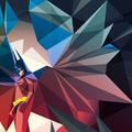 Geometrikus szuperhős-szilánkok...