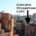 Steampunk loft Manhattanben