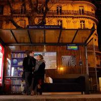 Buszváró szalonok Párizsban - Guerilla by IKEA