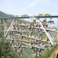 Mediterrán parazitaváros egy olasz viadukt alatt?