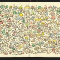 Illusztrációk, amelyekben órákra el lehet veszni