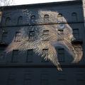 Óriás sas őrzi Berlin egyik utcáját