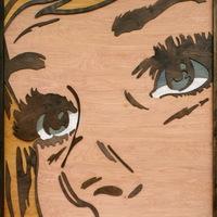 Pop-art rétegelt fából