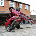Valódi Transformer egy brit művésztől