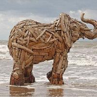 Fenséges uszadékfa-elefántcsalád