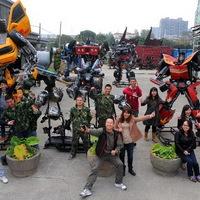 Transformers park Kínában