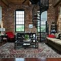 Zsír penthouse egy textilmalomban - Mills Mill Penthouse, Greenville