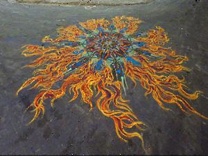 Óriás homokfestmények lazításhoz