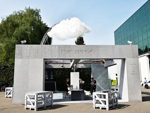 Az IVANKA bemutatta a jövő esőházát a milánói design héten - RAINHOUSE by IVANKA