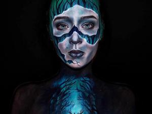 Egy 16 éves lány, aki bulikázás helyett brutális maszkokat készít