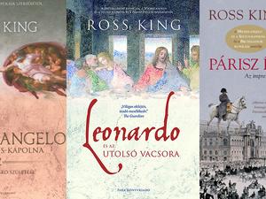 Lebilincselő kalandozások a művészettörténetben – Ross King könyvei