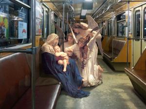 Klasszikus festmények szereplői a mai világban