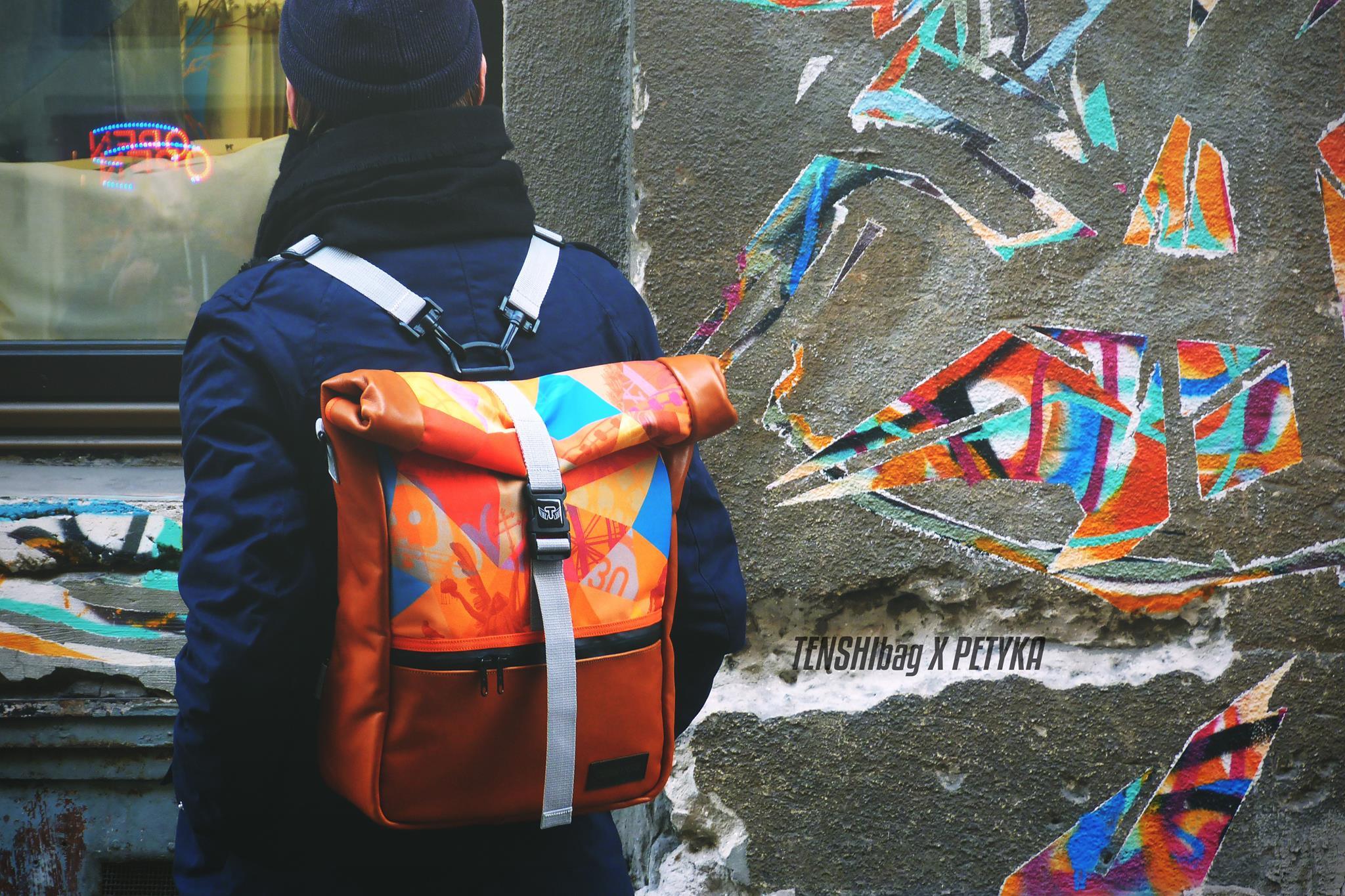A te táskád, a te alkotásod – TENSHIbag X PETYKA