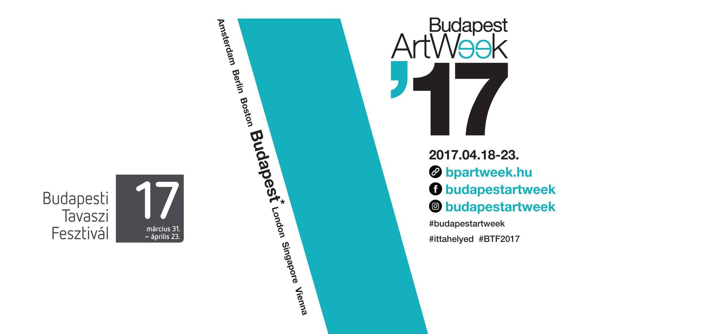 Újra egy hét fürdőzés a művészetekben – Budapest Art Week 2017