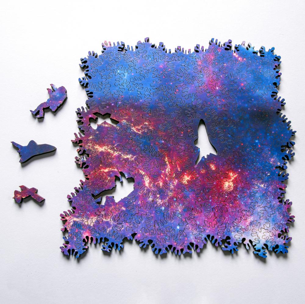 Végtelenített űrös puzzle gyereklelkű felnőtteknek (is)