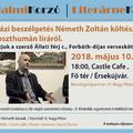 Beszélgetés Németh Zoltán költészetéről és a poszthumán líráról