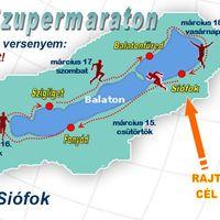 Sikerült! 15 óra 5 perc alatt körbefutottam a Balatont!