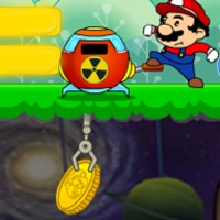 Márió az aranybányász - ügyességi játék Márióval