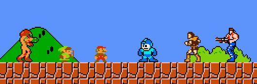 Super Mario Crossover Játékok