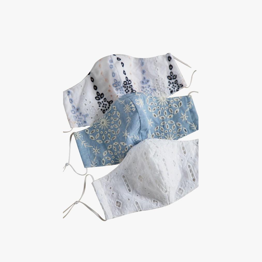 Greylin - Linda hímzett maszk - 23 dollár