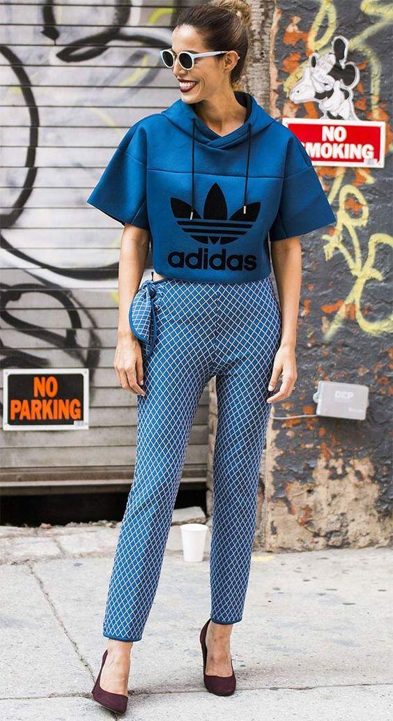 Sportos pulcsi, sikkes nadrág - ilyen is van!