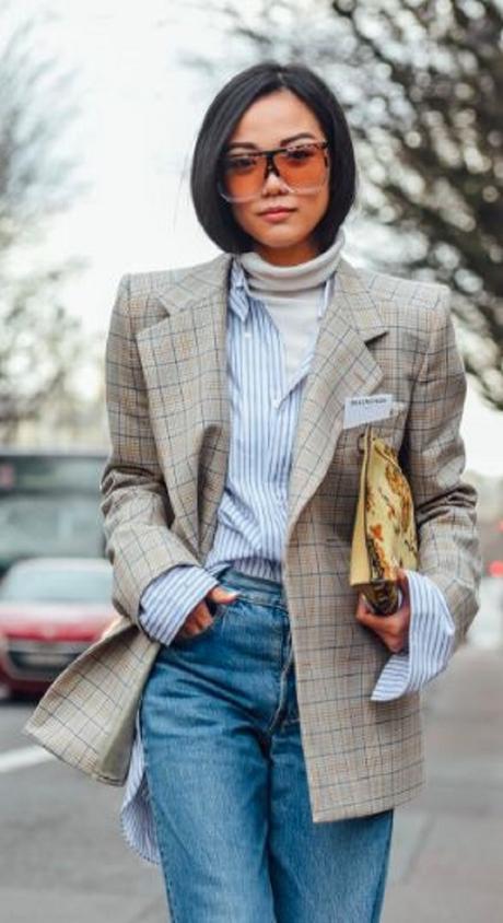 Rétegezz a kedvenc kék-fehér ingeddel - vedd fel akár blézer és gardbó közé!