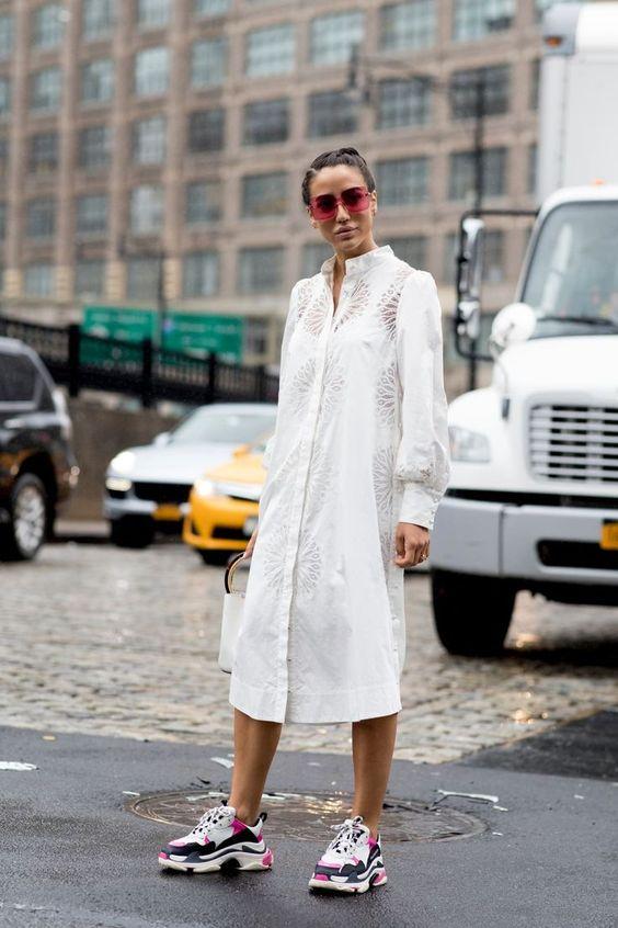 A tuti ingruha egy sima sportcipővel nem csak csinos, de vagány is!