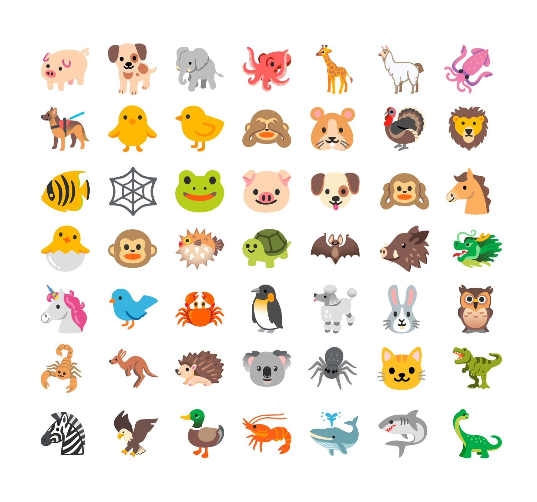 new-animal-emojis-android-11-old-classics.jpg
