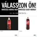 Saját márka:gyártói márka; 1:1 vagy 1:0?