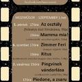 A mozizás folytatódik! - műsor, szeptember első hete