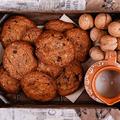 Sós vajjal készült csokis keksz – lépésekben