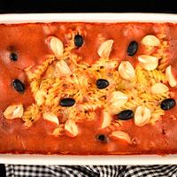 Parmezános sült tészta paradicsomszószban