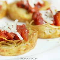 Csak 3 hozzávaló: spagetti kosárkák