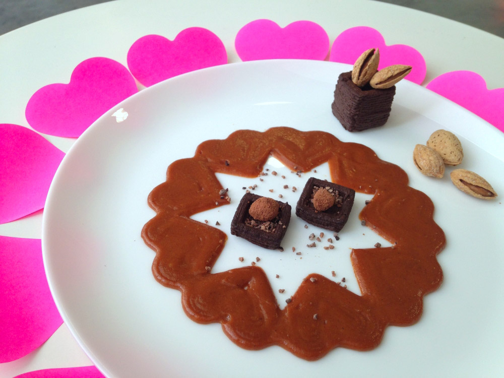 valentine_s_day_chocolate_mousse_and_caramel_sauce_circle_of_hearts.jpg