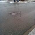 Kijavították a Kórház utcai  akna környékét!