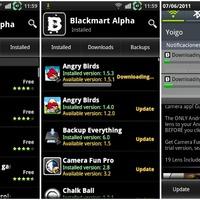 Android alkalmazások: Blackmart Alpha (pénzes Google Play alkalmazások ingyen!)