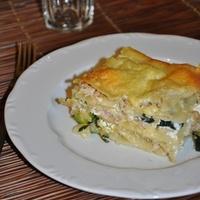 Cukkinis lasagna