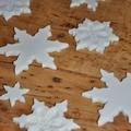 Só liszt gyurma karácsonyfa dísz