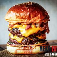 Meat Everest - A verseny burger
