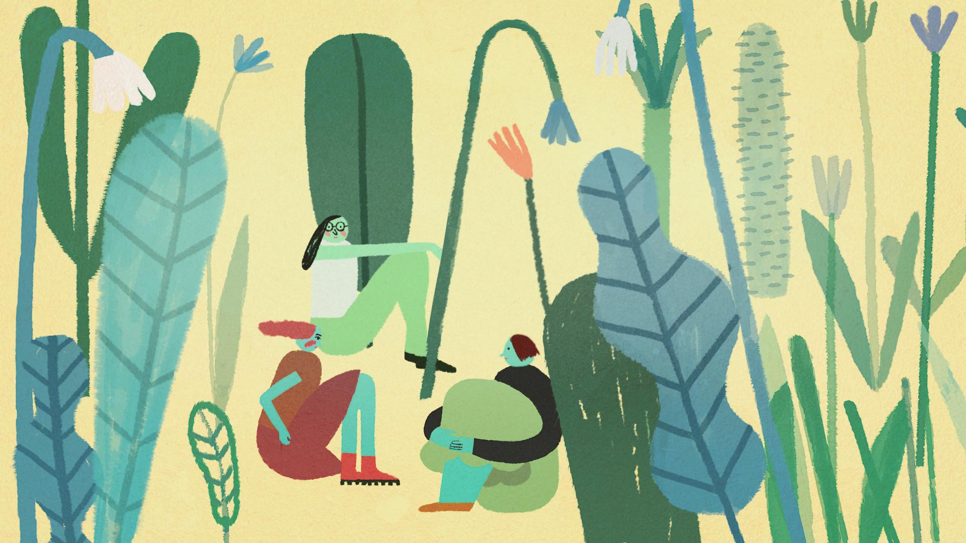 Jelenet a Volt egyszer egy kertész című animációs filmből