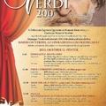 Meghívó - Verdi kiállítás megnyitó és kapcsolódó programok
