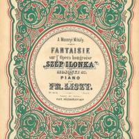 A Médiatár kincsei - Liszt Ferenc - Fantázia Mosonyi Mihály Szép Ilonka című operájára