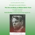 Yeats kiállítás a Debreceni Egyetem könyvtárában