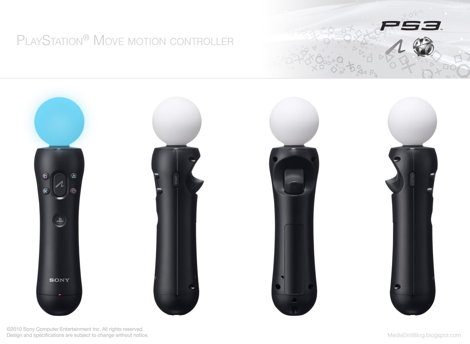 PlayStation motion controller