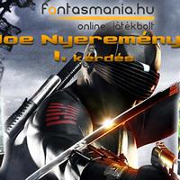 G.I. Joe Nyereményjáték - 1. forduló