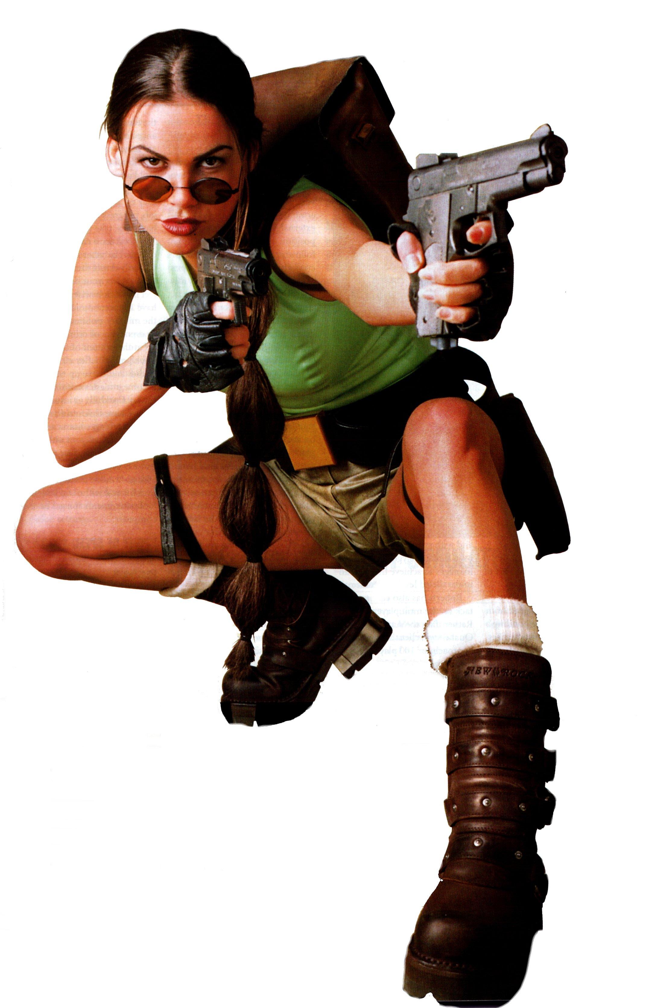 A holland származású modell a Tomb Raider Revelation reklámarca volt 1999 és 2000 között.