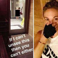 A konditerem öltözőjében lefényképezett egy nőt a tudta nélkül, hogy milyen kövér, és posztolta online.