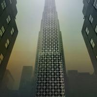 Felhőkarcoló aputól