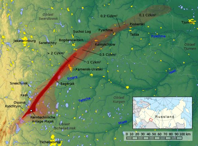 Kelet-Ural radioaktív szennyezettsége
